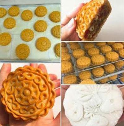 """Nhiều """"cửa hàng"""" trên mạng xã hội bày bán các loại bánh trung thu handmade với những lời quảng cáo hấp dẫn."""