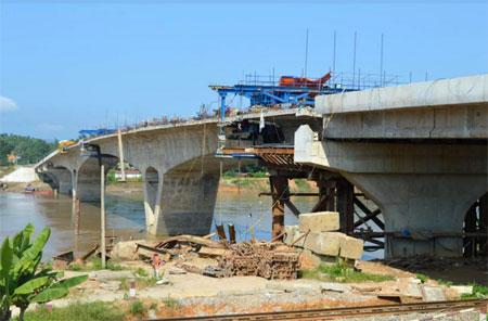 Dự án cầu Tuần Quán có tổng mức đầu tư trên 722 tỷ đồng.