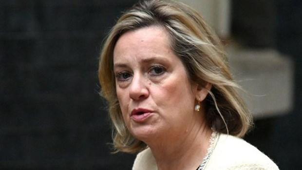 Bộ trưởng Việc làm và Hưu trí Amber Rudd.