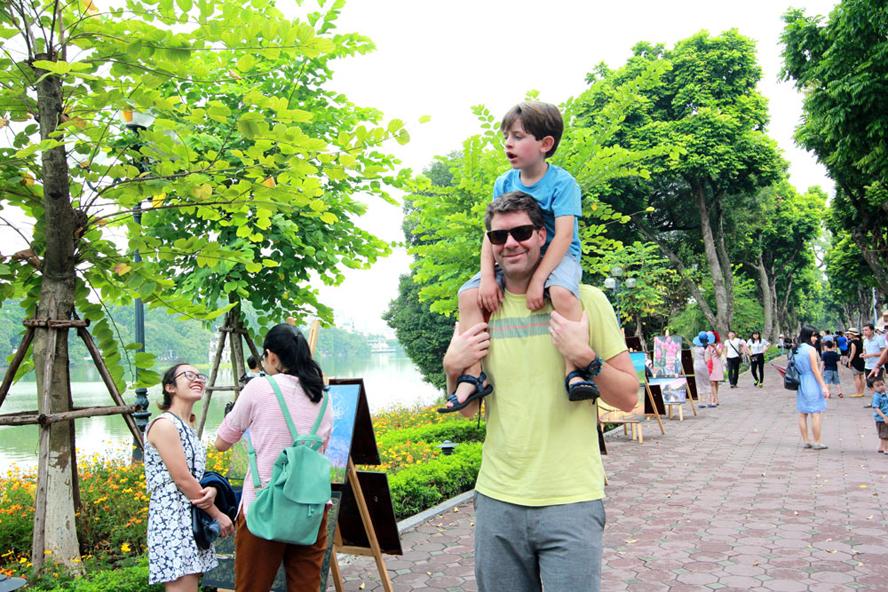 Việt Nam là một trong những điểm đến yêu thích của du khách quốc tế.