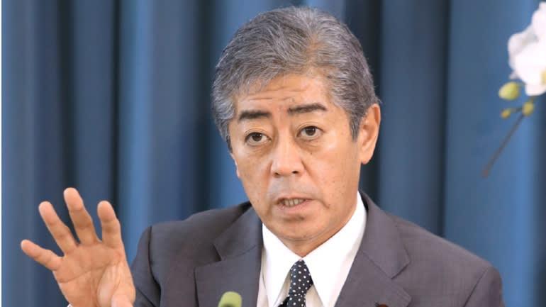 Bộ trưởng Quốc phòng Nhật Bản Takeshi Iwaya.