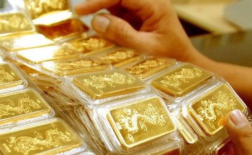 Giá vàng vừa có phiên đóng cửa ở mức thấp nhất trong 5 tuần.