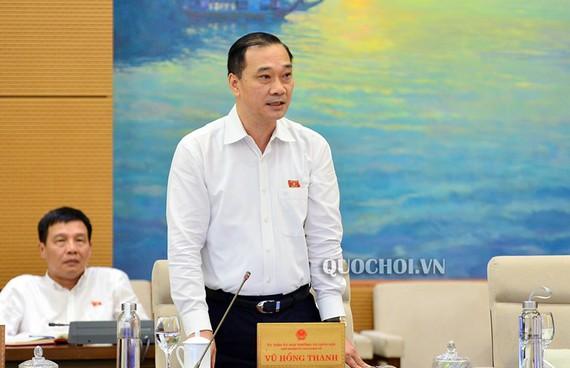 Chủ nhiệm Uỷ ban Kinh tế Vũ Hồng Thanh nhấn mạnh, kết quả thu hồi tài sản do tham nhũng mà có vẫn còn rất thấp.