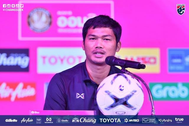 HLV đội U19 Thái Lan, Issara Sritaro quyết tâm giành chiến thắng trước U19 Việt Nam
