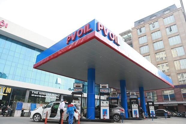 Một trong những điểm bán xăng của PVOil.