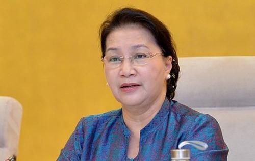 Chủ tịch Quốc hội Nguyễn Thị Kim Ngân.