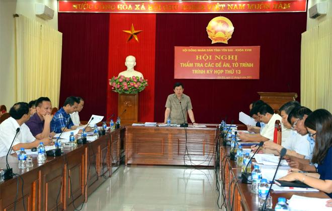 Các ban của HĐND tỉnh thẩm tra nội dung các báo cáo, tờ trình trước khi trình kỳ họp HĐND tỉnh.