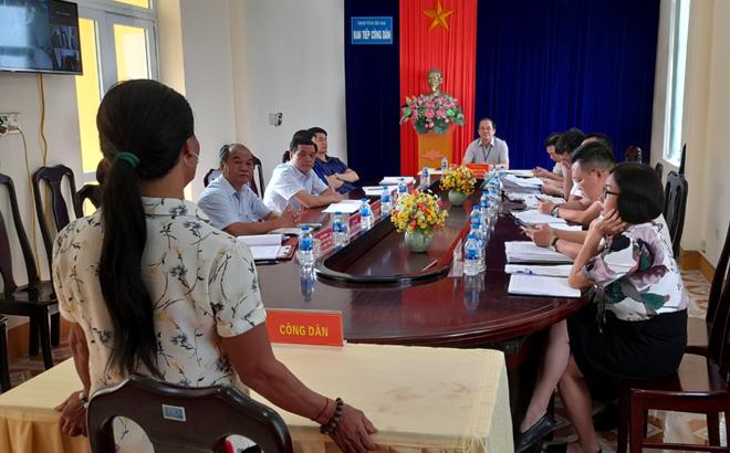Phiên tiếp công dân định kỳ của UBND tỉnh ngày 15/9