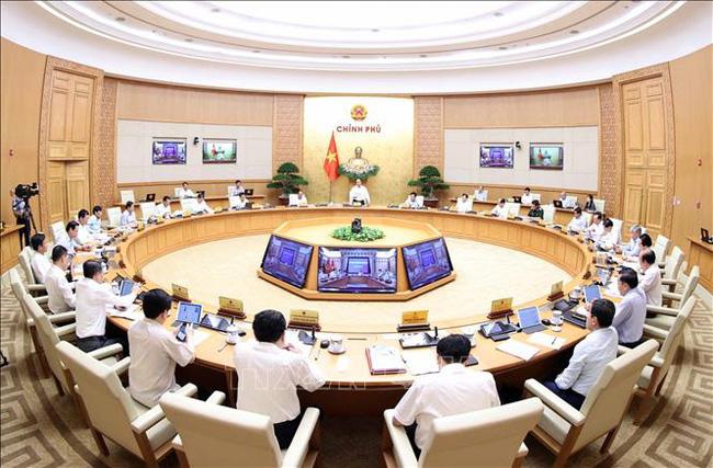 Quang cảnh phiên họp Chính phủ thường kỳ tháng 8/2020 diễn ra ngày 4/9.