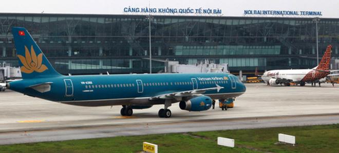 Sân bay Nội Bài sẽ là nơi tiếp nhận các chuyến bay quốc tế thường lệ có chở khách vào Việt Nam từ Nhật Bản, Hàn Quốc, Đài Loan, Lào