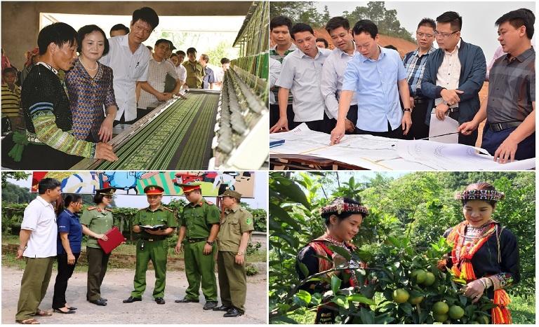 Nhiệm kỳ qua, Đảng bộ, chính quyền và nhân dân các dân tộc tỉnh Yên Bái không ngừng đổi mới, sáng tạo và đạt được những bước phát triển đột phá về kinh tế - xã hội