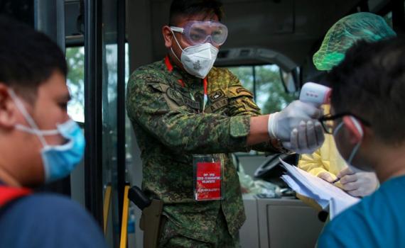 Số ca mắc Covid-19 vẫn tăng nhanh tại Philippines.