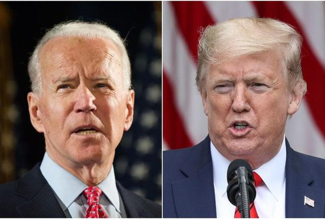 Tổng thống Mỹ Donald Trump và ứng viên Dân chủ Joe Biden