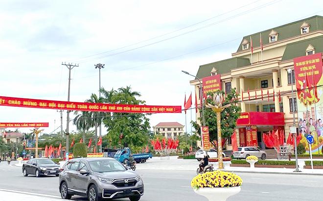 Trung tâm Hội nghị tỉnh trước ngày diễn ra Đại hội đại biểu Đảng bộ tỉnh Yên Bái lần thứ XIX, nhiệm kỳ 2020 - 2025.