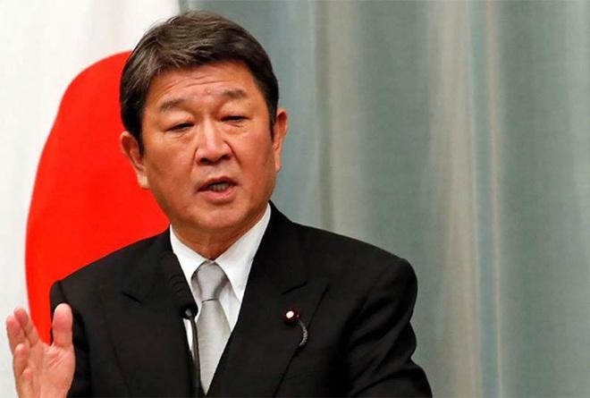 Ngoại trưởng Nhật Bản Toshimitsu Motegi.