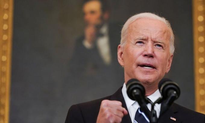 Tổng thống Joe Biden tại Nhà Trắng ngày 9/9.
