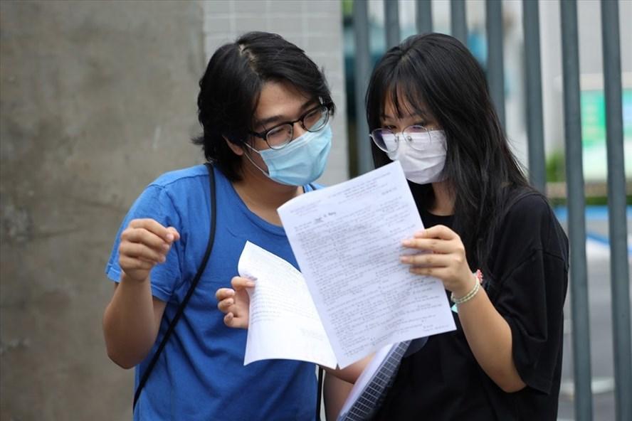 Từ chiều 15.9, các trường đại học sẽ công bố điểm chuẩn đến thí sinh.