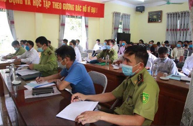 Lớp tập huấn tại xã Phình Hồ, huyện Trạm Tấu.