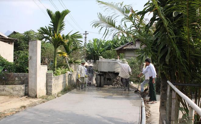 Nhiều tuyến đường trên địa bàn xã Đồng Khê đã được bê tông hóa đảm bảo thuận tiện đi lại cho nhân dân.