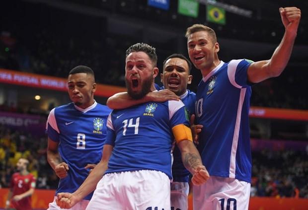 Futsal Brazil vào bán kết FIFA Futsal World Cup 2021.