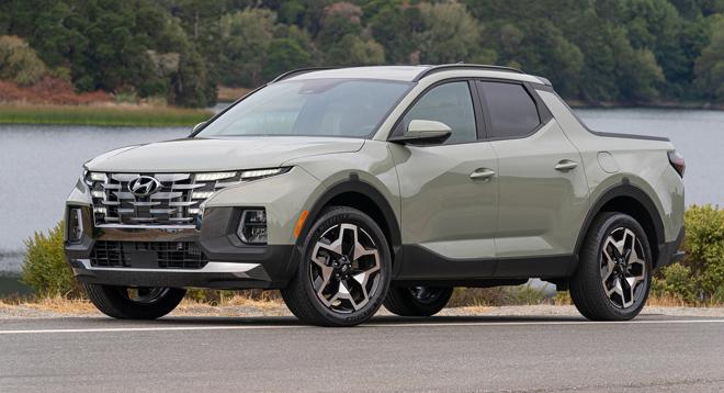 Hyundai Santa Cruze.